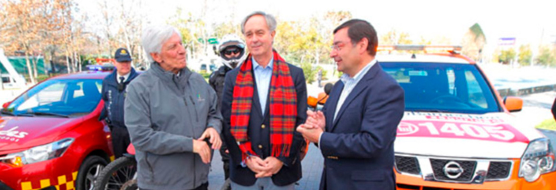 Las Condes, Lo Barnechea Y Vitacura Crean Inédita Asociación De Seguridad Municipal
