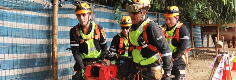 Nueva Patrulla De Emergencias Recibe Capacitación En Lo Barnechea