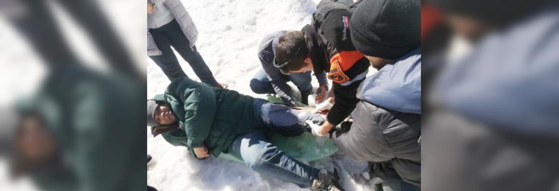 Patrulleros Municipales Atienden Accidente En Valle Nevado Gracias A Su Capacitación En Atención De Emergencias