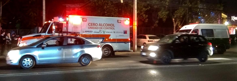 """Unidad De Control """"Cero Alcohol"""" Ya Recorre Las Principales Calles De Lo Barnechea, Vitacura Y Las Condes"""