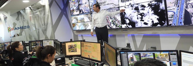 Felipe Guevara Inaugura Nueva Sala De Comando De Alta Tecnología En Lo Barnechea