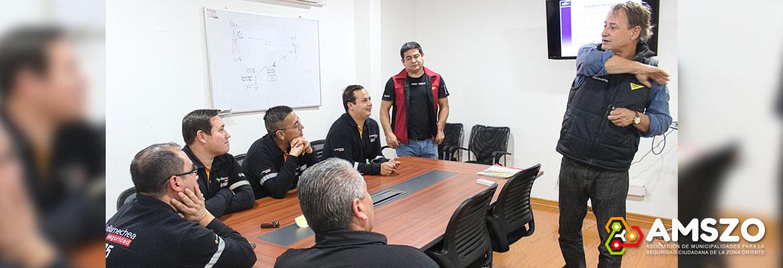 Exitosa Capacitación A Funcionarios De Lo Barnechea Seguridad