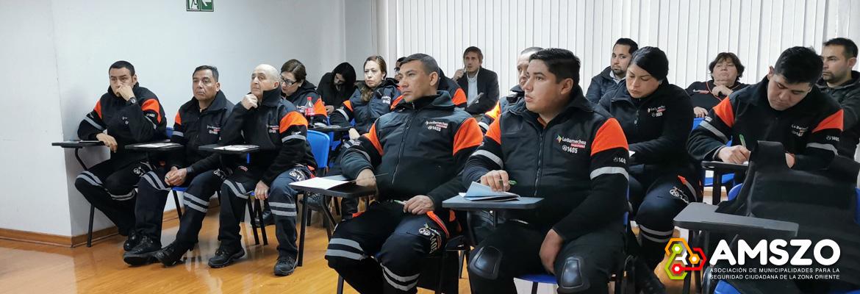 Trabajadores De Lo Barnechea Seguridad Se Capacitaron Con La ACHS