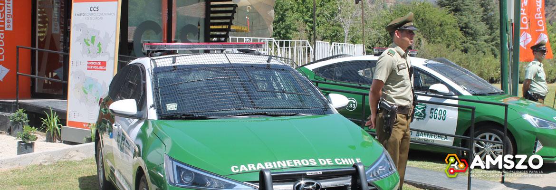 Lo Barnechea Ya Cuenta Con Tres Centros Comunitarios Y De Seguridad -CCS- Y Refuerza Su Compromiso Con Carabineros