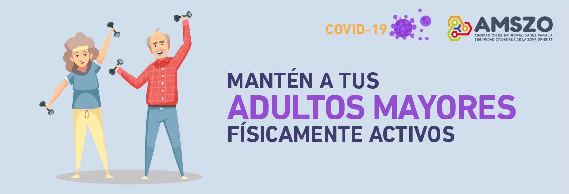 Mantén a tus adultos mayores físicamente activos