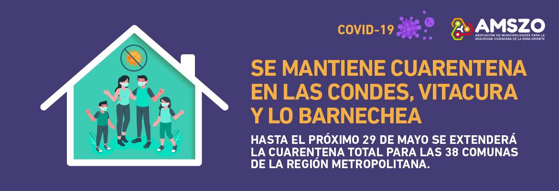 Se Mantiene Cuarentena En Las Condes, Vitacura Y Lo Barnechea